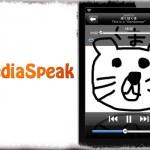 MediaSpeak - 再生楽曲のタイトル・歌手名を読み上げてくれる! [JBApp]