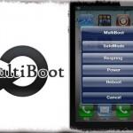 MultiBoot - 電源メニューを表示出来るアイコンをホーム画面に追加 [JBApp]