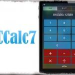 NCCalc7 - 通知センターに電卓ウィジェットを追加