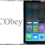 NCObey - スワイプする位置によって開く通知センタータブを選択