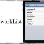 NetworkList - 過去に接続したことがある「WiFiのパスワード」を確認可能に [JBApp]