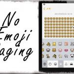NoEmojiPaging - 絵文字キーボードをページ移動ではなくスクロールに変更