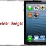 No Folder Badges - フォルダに付くバッジのみを非表示に [JBApp]