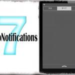 NoNoNotifications7 - 通知センターの「通知はありません」を非表示に