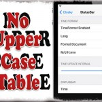 NoUpperCaseTable - 設定項目サブタイトルが全て大文字になるのを修正する