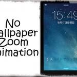 NoWallpaperZoomAnimation - スリープ時の壁紙がズームする動きを無効化