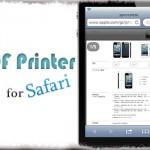 PDF Printer - 閲覧中のWebページをSafariから直接PDF化 [JBApp]