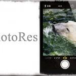 PhotoRes - カメラアプリで撮影出来る写真のアスペクト比・解像度を変更!