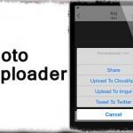 Photo Uploader - 写真アプリから直接ImgurやCloudAppへアップ可能に [JBApp]