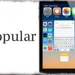 Popular - 使用時間が多いアプリをスイッチャー上部に追加表示する!