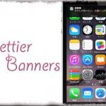 Prettier Banners - メッセージの通知バナーに相手の写真を表示