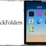 QuickFolders - 画面から指を離さずフォルダを開きアプリを起動