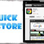 QuickStore - AppStoreアプリを起動せず、その場でアプリ詳細&インストール! [JBApp]