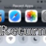 コントロールセンター上部にアプリ履歴を表示「Return」テスト版が登場 [JBApp]