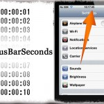 StatusBarSeconds - ステータスバーに秒数を表示する [JBApp]