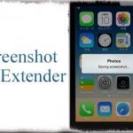 Screenshot Extender - スクリーンショットのフラッシュをアラートやバナーに変更