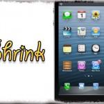 Shrink - アプリアイコンの大きさ、ラベルサイズ・色などをサクッと変更 [JBApp]