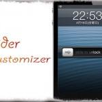 SliderCustomizer - ロック解除スライダーの位置や幅、高さ等々をカスタマイズ! [JBApp]