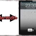 SliderWidth - ロック解除スライダーの横幅を小さくしたり、大きくしたり! [JBApp]