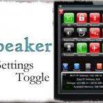 Speaker SBS Toggle - 受話時 自動スピーカーフォンを簡単にオンオフ [JBApp]