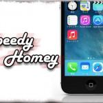 Speedy Homey - 「ホームボタン」アクションの反応速度がグイッと向上! [JBApp]