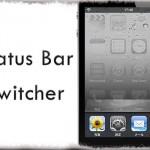 Status Bar Switcher - スイッチャー呼び出し時でもステータスバーを表示 [JBApp]