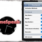 TimeSpeak - 素敵!Activatorジェスチャーを合図に「現在日時」を読み上げ! [JBApp]