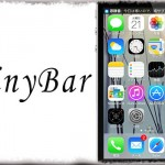 TinyBar - 通知バナーをコンパクトな、ステータスバーぴったりサイズに!! [JBApp]
