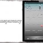 Transparency - ホーム画面のアイコンを透明に [JBApp]