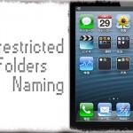 Unrestricted Folders Naming - フォルダ名を無しに & スペースをどこでも挿入可 [JBApp]