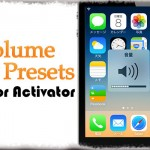 Volume Presets for Activator - 好きなメディア音量にサクッと変更