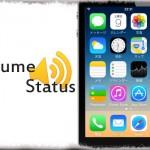 VolumeStatus - 現在の音量レベルをステータスバーにアイコンで表示
