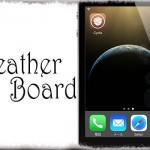WeatherBoard (iOS 8 & 7) - 好きな天気アニメーションを壁紙として使う!