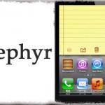 Zephyr - iPad風マルチタスク ジェスチャー!ホームボタンなんて不要! [JBApp]