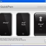 "iPhone 2.0.2対応 JailBreak、脱獄ツール""QuickPwnGui120"""