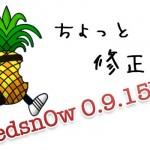 3GSで起こっていた一部不具合を修正『Redsn0w 0.9.15b2』アップデート