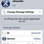 "iPhone 3.0 対応 SIMロック解除!! ""ultrasn0w"""
