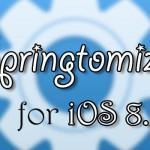 超多機能な脱獄アプリ「Springtomize 3」がiOS 8.1.1に対応! [JBApp]