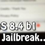 実際に「iOS 8.4 Beta 脱獄」が動作している映像をi0n1c氏が公開!