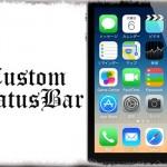 CustomStatusBar - ステータスバーの各アイテムを個別に非表示 [JBApp]