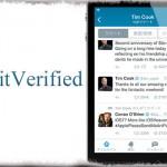 TwitVerified - 公式アプリのタイムラインにも「認証マーク」を表示 [JBApp]