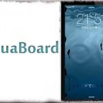 AquaBoard (iOS 8) - 壁紙にタップで反応する水紋アニメーションを! [JBApp]