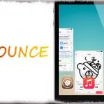 Bounce - 音楽アプリのサムネイルを下へスワイプして再生・停止 [JBApp]