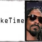 TokeTime - 4時20分になるとロック画面にスヌープ・ドッグが出現… [JBApp]