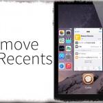 Remove Recents - スイッチャーにはバックグラウンド動作中アプリのみ表示 [JBApp]