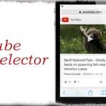 TubeSelector - YouTubeページやリンクを、好きなYouTubeアプリで開く!! [JBApp]