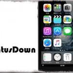 StatusDown - ホーム画面のステータスバーを画面下部へ移動 [JBApp]