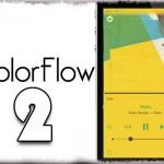 ColorFlow 2 - 音楽アートワークに合わせてアプリ&ロック画面の色を変更!! [JBApp]