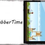 GrabberTime - フルスクリーン時の通知センター呼び出しタブに時間を表示 [JBApp]
