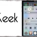 Keek - コントロールセンター内でアプリを起動&使用する! [JBApp]